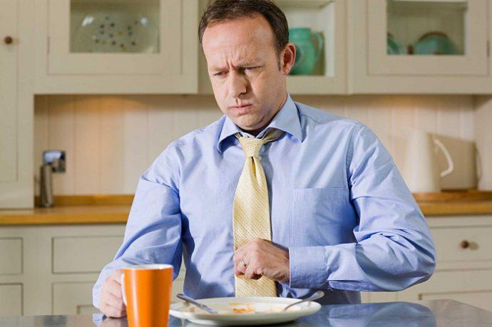 дискомфорт после еды
