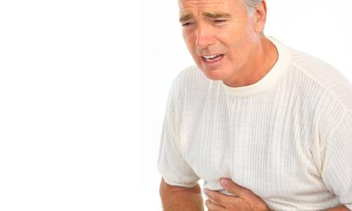 Действия при приступе язвы желудка