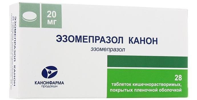 Эзомепрозол