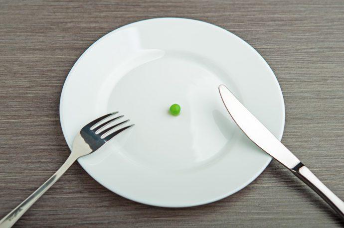 не переедать