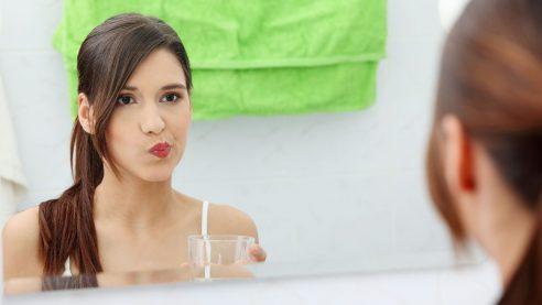 как полоскать рот