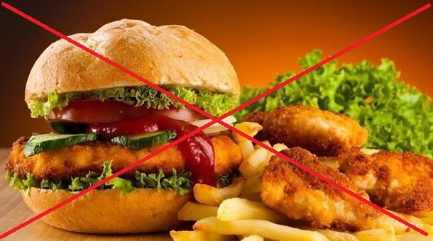 отказаться от вредной пищи