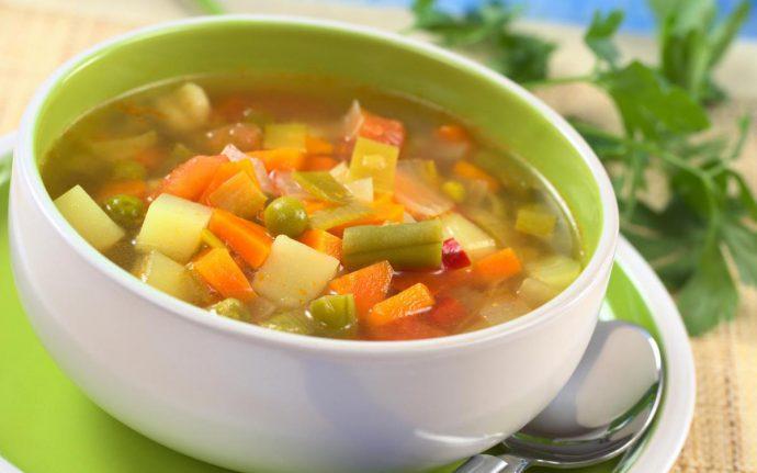 рецепты супов и блюд