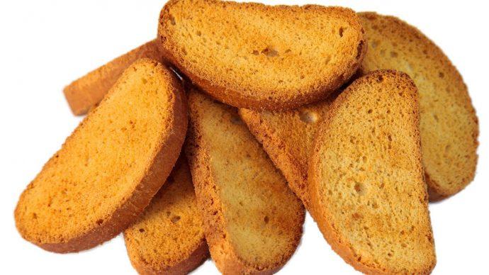 Сухарики из хлеба