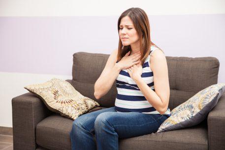 изжога у беременной женщины