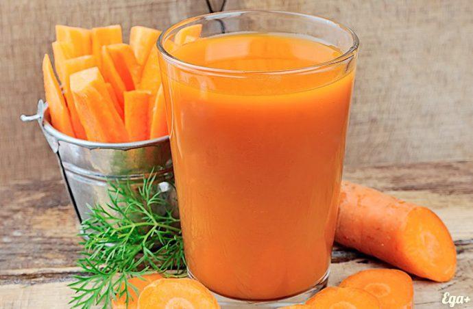 морковь в рационе