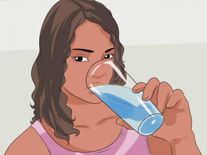 питье воды для стимуляции рвоты