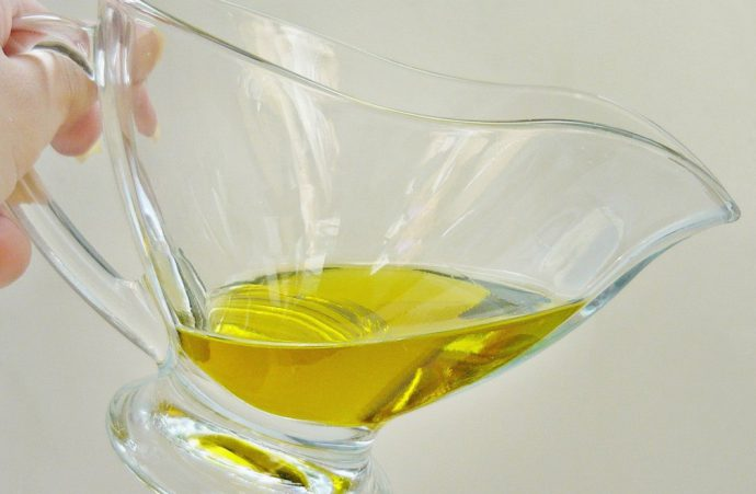 оливковое масло с водкой