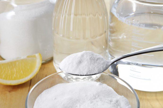 сода в стакане