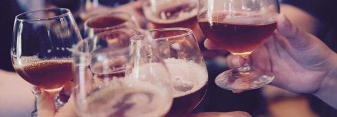 употребление алкоголесодержащих напитков