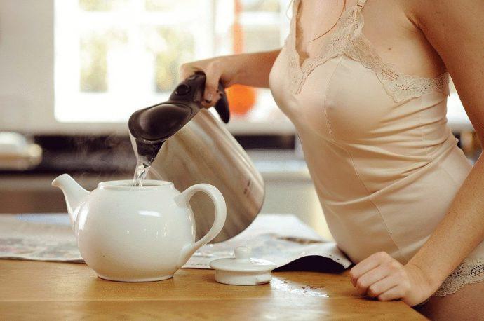 чай с медом для женщин